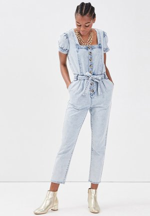 Jumpsuit - denim bleach