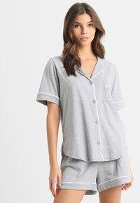 DKNY Intimates - TOP BOXER PJ - Pyjamas - grey heather - 0