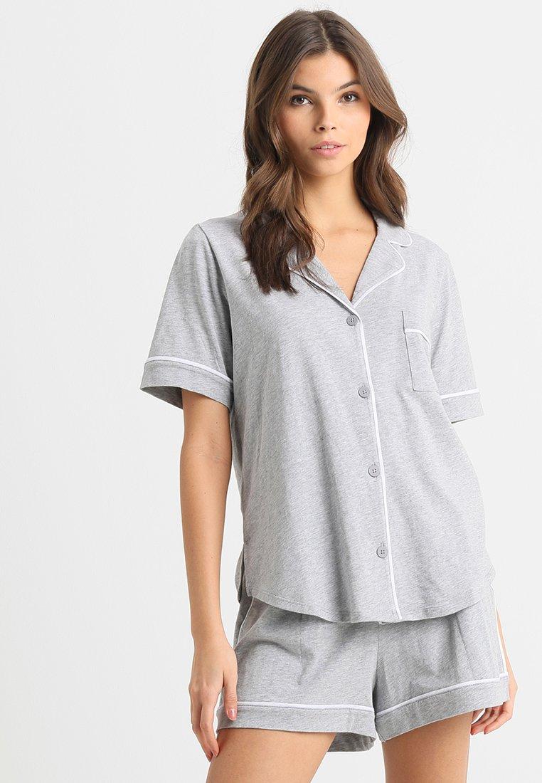 DKNY Intimates - TOP BOXER PJ - Pyjamas - grey heather