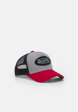 UNISEX - Cap - grey/black/red