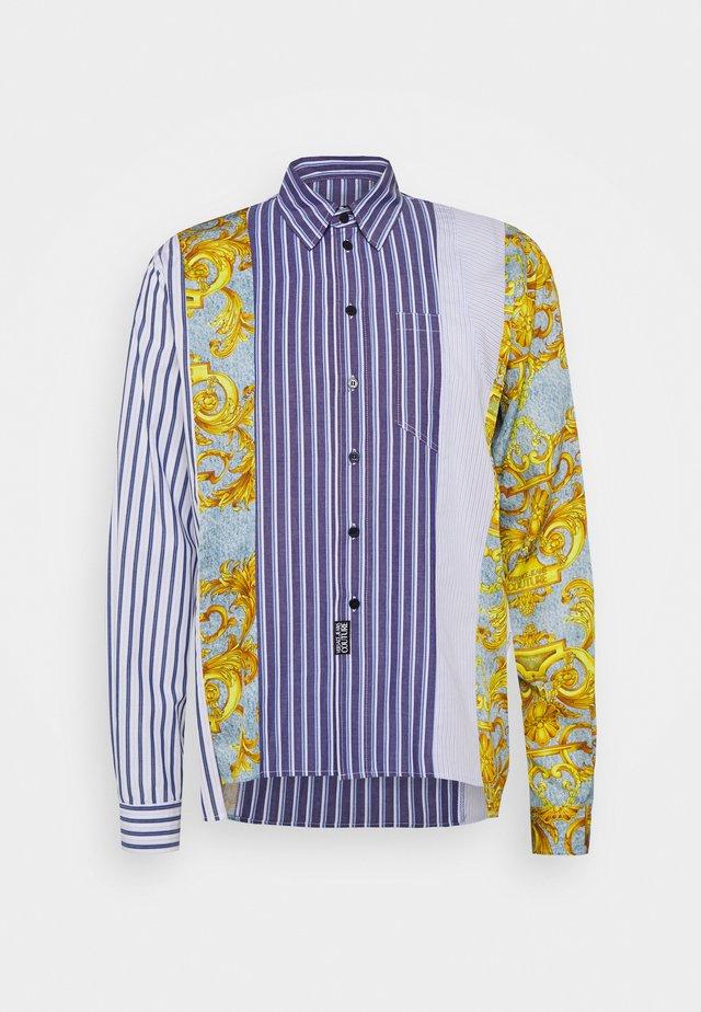 PRINT BAROQUE - Skjorta - azzurro scuro