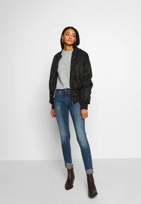 G-Star - LHANA HIGH SUPER SKINNY - Jeans Skinny Fit - blue denim - 1