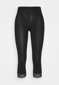Anna Field Tall - 2 PACK - Leggings - Trousers - black/dark blue - 2