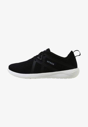 LITERIDE  - Sneakers laag - black / white
