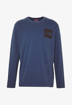 FINE TEE  - Long sleeved top - blue wing teal
