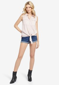 khujo - LANA - Button-down blouse - rose - 1