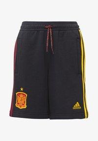adidas Performance - FEF SPANIEN SHORT UNISEX - Oblečení národního týmu - black - 0