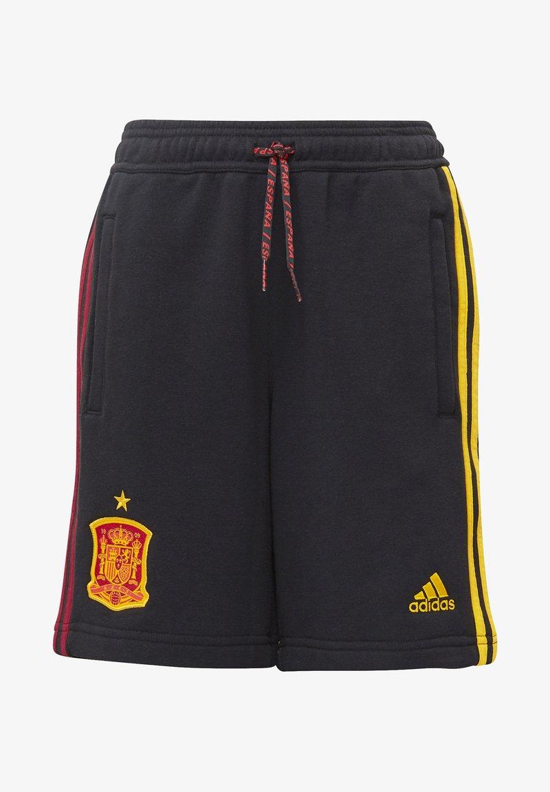 adidas Performance - FEF SPANIEN SHORT UNISEX - Oblečení národního týmu - black