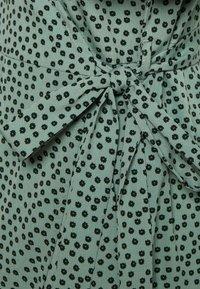 ONLY - ONLOLIVIA  - Sukienka letnia - green/black - 2