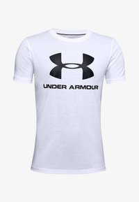 Under Armour - Triko s potiskem - white - 0