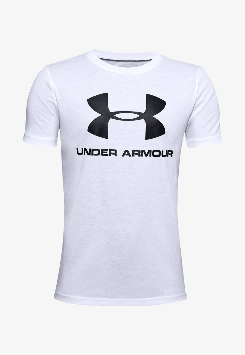Under Armour - Triko s potiskem - white