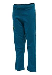 Hummel - Tracksuit bottoms - blue coral green ash - 1