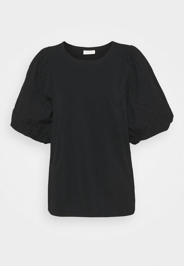 VISTA TEE BALLOON - Print T-shirt - black