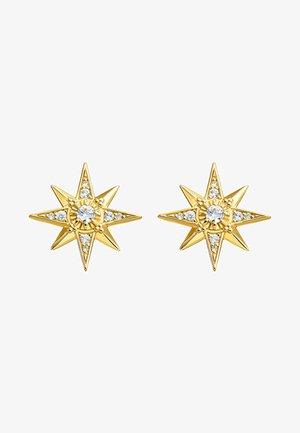 STERN - Earrings - white/gold-coloured