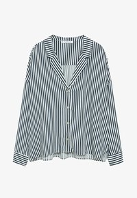 Violeta by Mango - STRIPES - Button-down blouse - blue - 4
