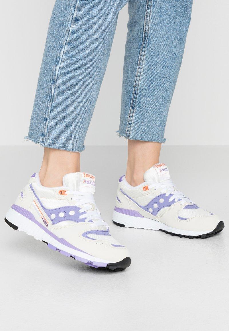 Saucony - AZURA - Trainers - white/lilac