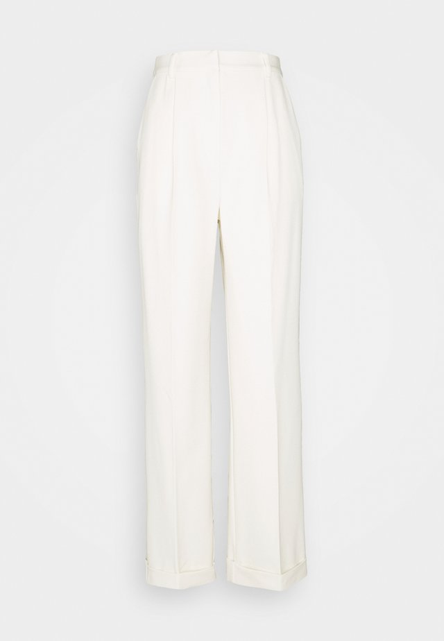 MATHILDE GØHLER SUIT PANTS - Trousers - off-white