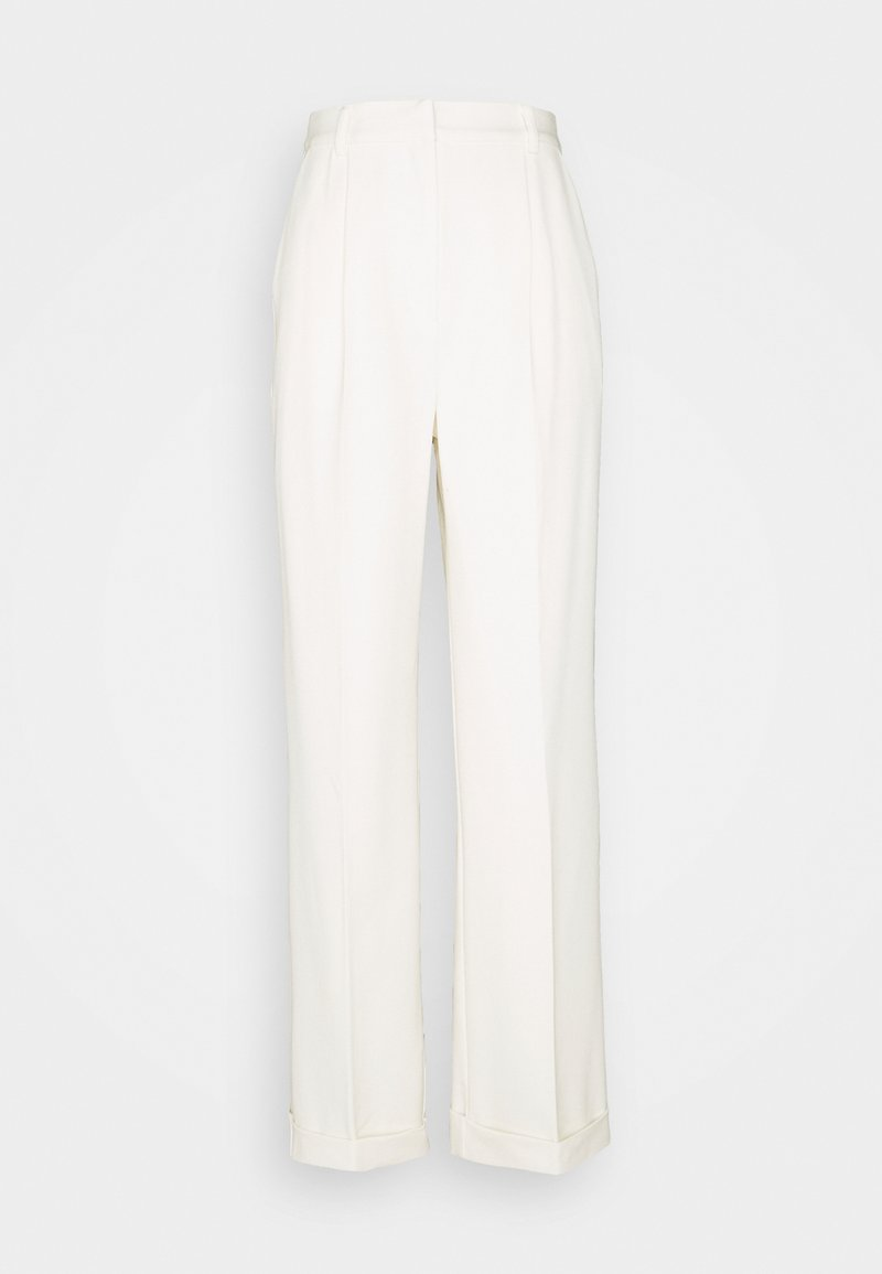 NA-KD - MATHILDE GØHLER SUIT PANTS - Trousers - off-white