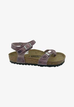 T-bar sandals - lavender blush