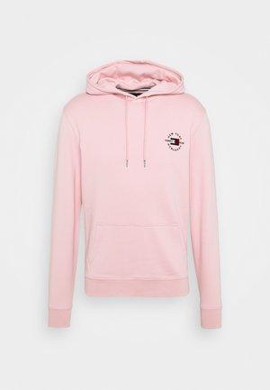 CIRCLE CHEST HOODY - Hoodie - glacier pink