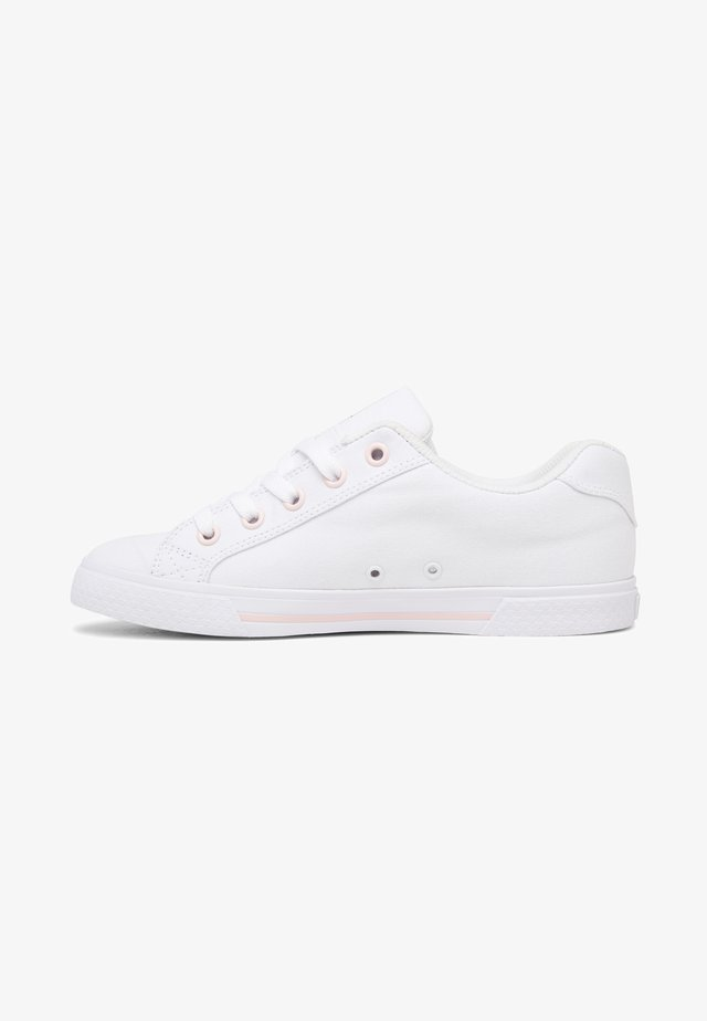 CHELSEA - Baskets basses - white/pink