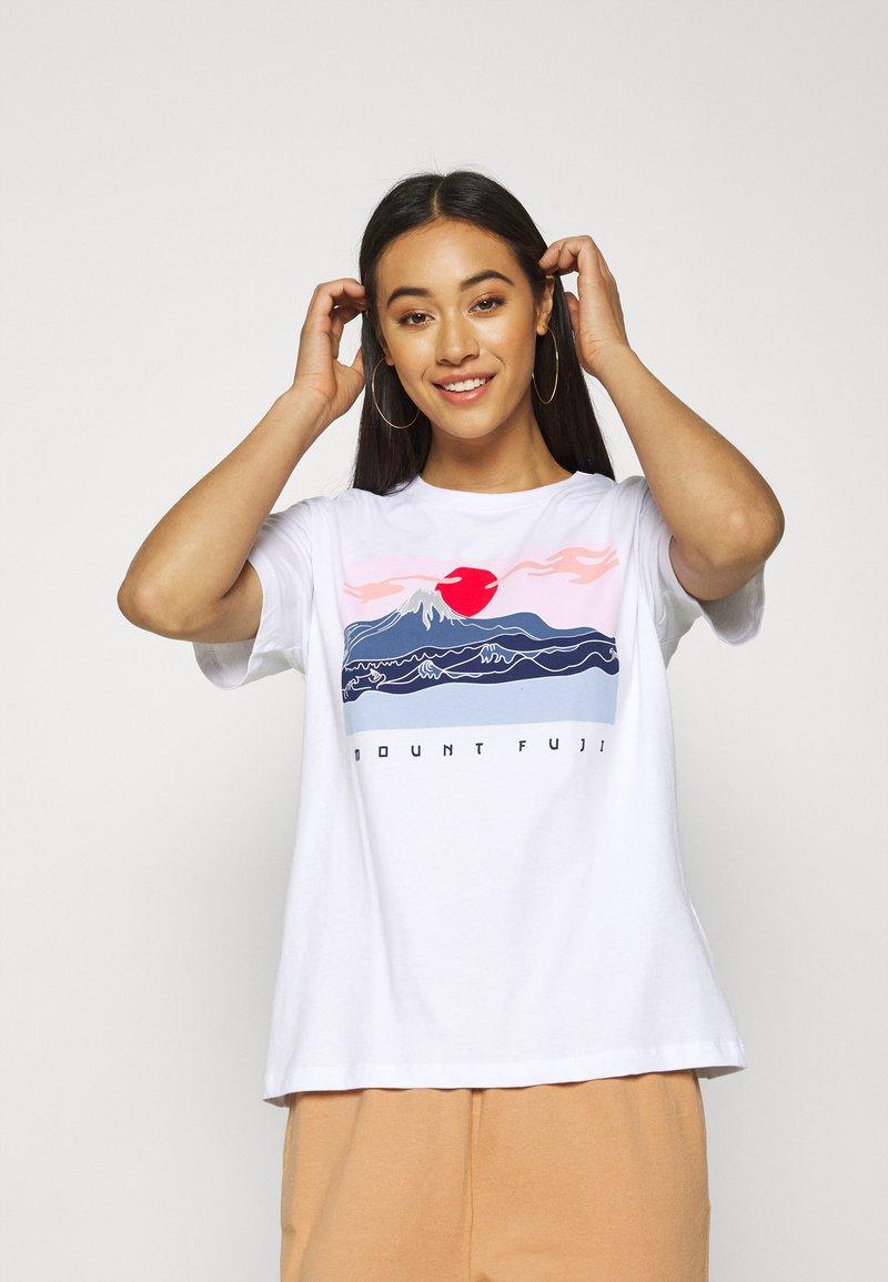 Even&Odd - T-shirts print - white