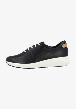 UN RIO TIE - Baskets basses - black leather