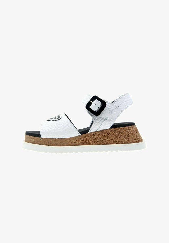 HIT  - Sandales à plateforme - blanco