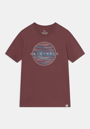 JORMILTON TEE CREW NECK JR - T-shirt med print - catawba grape