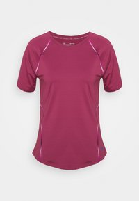 RUSH SCALLOP  - Print T-shirt - pink quartz