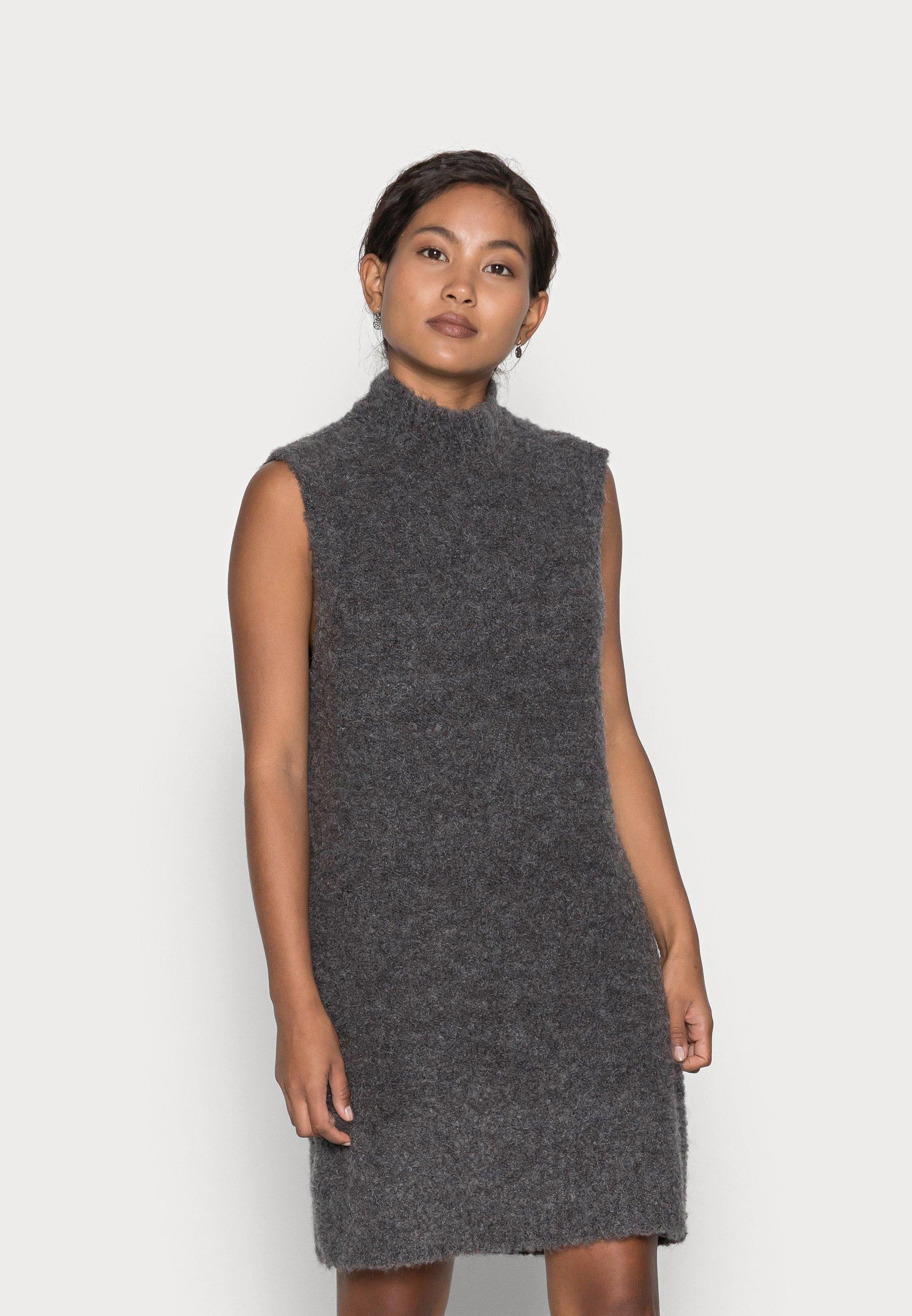 Mujer PCFREE O-NECK DRESS - Vestido de punto