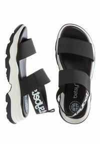 Betsy - Sandals - black  white - 3