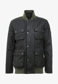 Barbour International - EDHILL WAX - Bomber Jacket - olive - 4