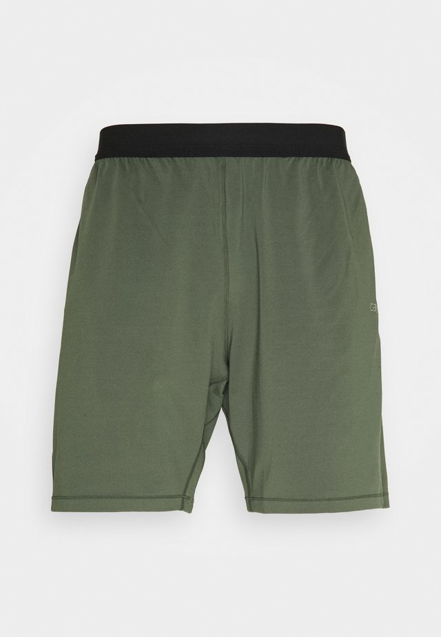 ELASTIC SHORTS - Sports shorts - northern green