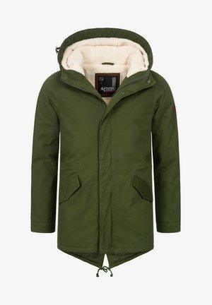 Winter coat - gruen