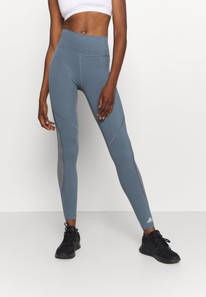 Leggings - legend blue/green tint