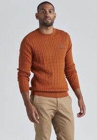 BONDELID - DAVE  - Neule - autumnal orange - 0