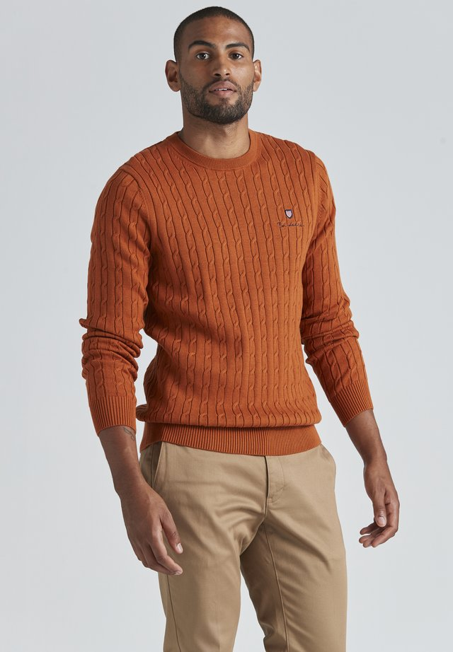 DAVE  - Trui - autumnal orange