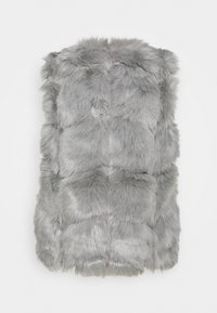 Missguided Petite - BUBBLE GILET - Waistcoat - grey - 1