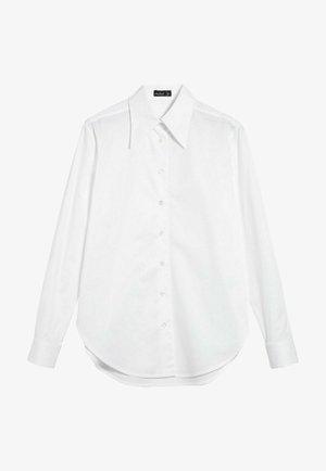M-LUBI - Button-down blouse - weiß