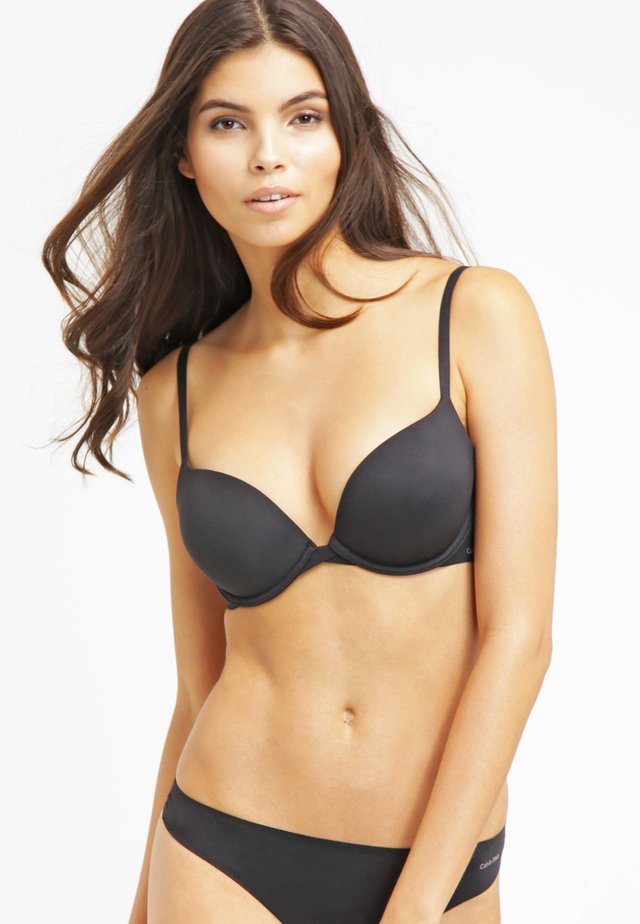 PERFECTLY FIT - Push-up bra - black