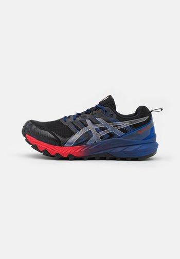 GEL-TRABUCO 9 G-TX - Běžecké boty do terénu - black/pure silver
