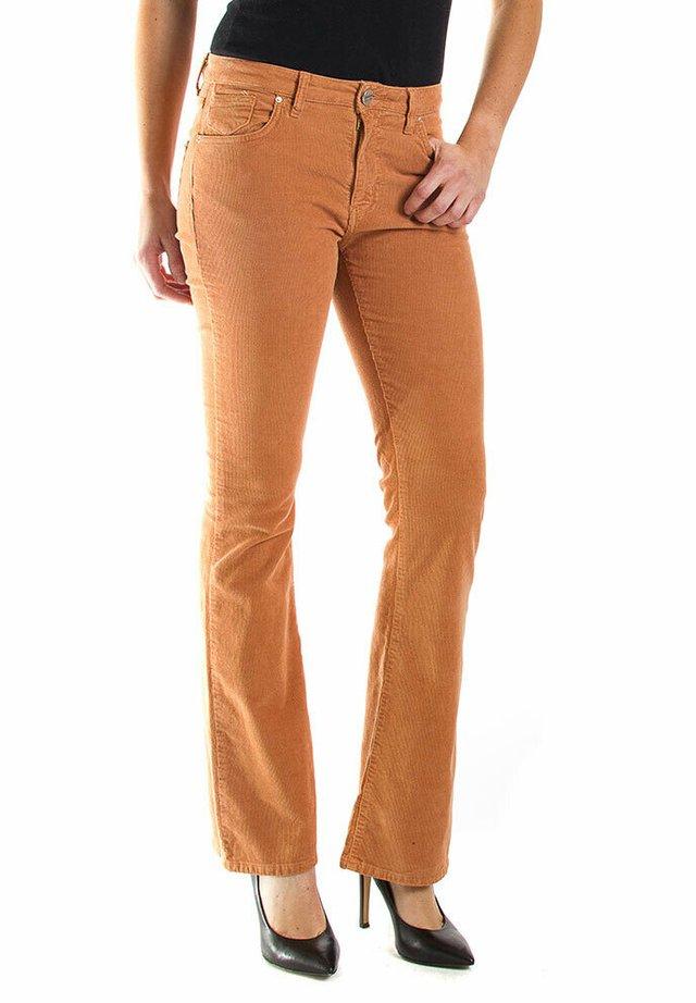 Jeans bootcut - bruciato