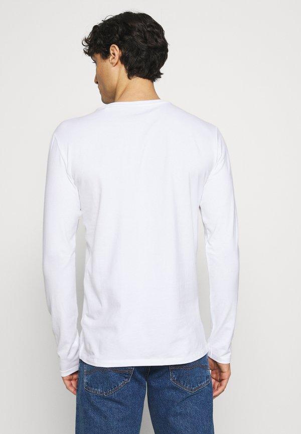 Guess CORE TEE - Bluzka z długim rękawem - blanc pur/biały Odzież Męska SLJU