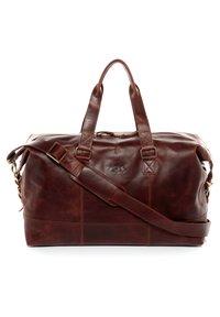 SID & VAIN - WEEKENDER - YALE - Weekend bag - braun-cognac - 5