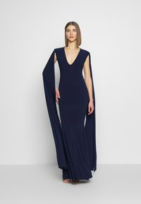 Club L London - CAPE SLEEVE FISHTAIL - Suknia balowa - navy - 1