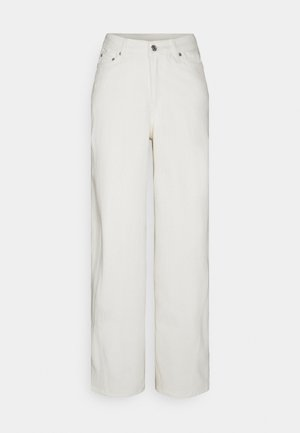LARA WAIST TROUSERS - Džíny Relaxed Fit - white