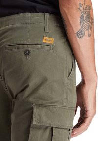 Timberland - CORE TWILL  - Cargo trousers - grape leaf - 3
