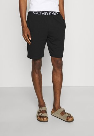 LOUNGE SLEEP SHORT - Pyjama bottoms - black