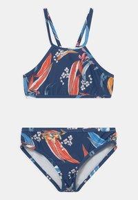 Seafolly - SALTY SUNSET HIGHNECK SET - Bikiny - marine blue - 0